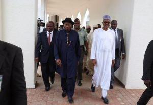 Pres.Jonathan & Buhari