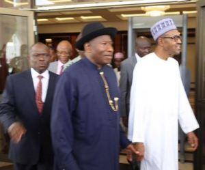 Pres.Jonathan & Buhari2