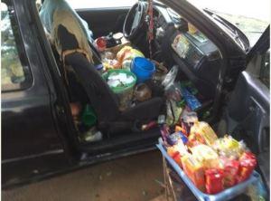 Abuja Traders Using Cars