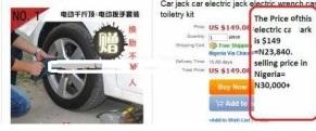 Electric Car Jack