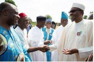 More photos of Buhari, Osinbajo, Tinubu, Amaechi, others at HID Awolowo's funeral.......0