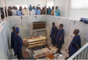 More photos of Buhari, Osinbajo, Tinubu, Amaechi, others at HID Awolowo's funeral