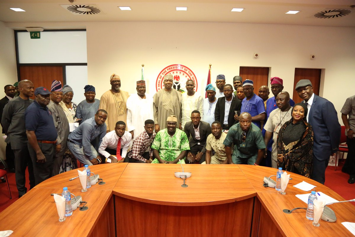 Senate Vows To End LAUTECH Crisis As Saraki Meets Students..dc