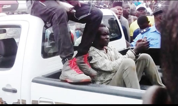 3 new suspects have been arrested at a suspected den of kidnappers and ritual killers in the Obadeyi-Ijaiye end of the Lagos-Abeokuta Expressway.